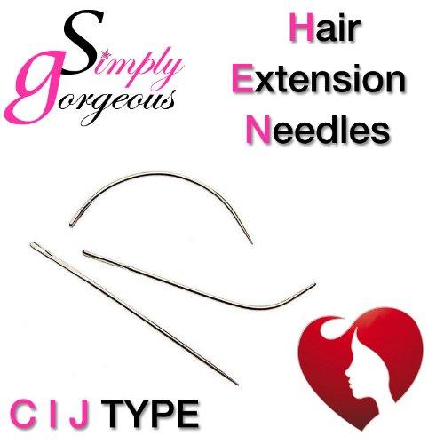 Set de 3 tout Simply Gorgeouss cheveux de trame Extension Tissage Aiguilles