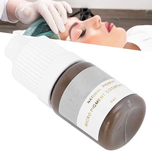 Inchiostro per Tatuaggi per Sopracciglia, Trucco per Principianti Accessori per Pigmenti per Microblading per Eyeliner per Ombreggiatura delle Sopracciglia (8 Ml)(#2)