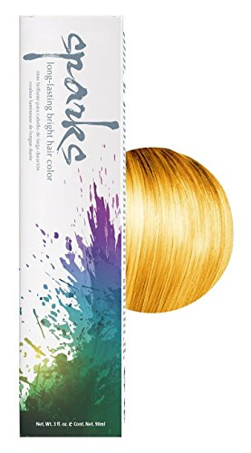 Sparks Bright Haircolor Sunburst Yellow 3 oz. (2 Pack)
