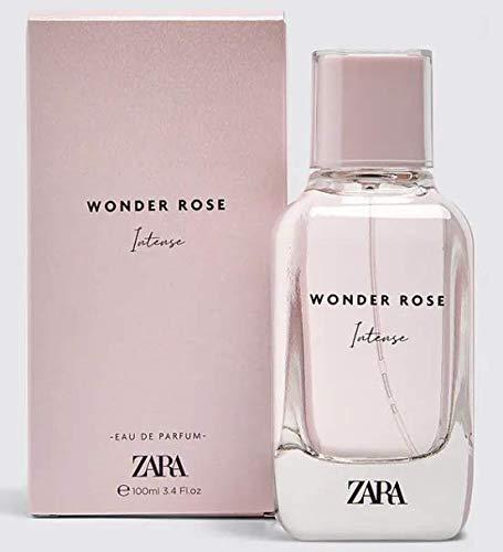 ZARA WONDER ROSE INTENSE EDP Eua de Parfum 100 ML/3.4 FL. OZ Woman