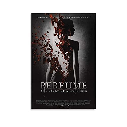 Hdadwy Perfume La historia de un asesino Póster de película Pintura decorativa Lienzo Arte de la pared Carteles de sala de estar Pintura de dormitorio 24x36 pulgadas (60x90cm)