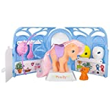 My Little Pony, includes 35235 Classic Pretty Parlor Playset with Peachy the Pony, Retro Gifts Animal Figures, Horse Toys for Kids, Suitable for Boys and Girls Aged 3, 4, 5, 6 Years plus, Multi-Colour