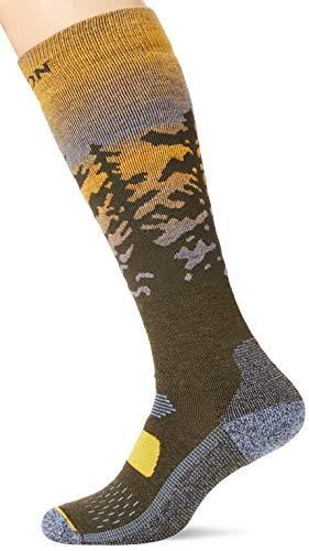 Burton Herren Performance Midweight Snowboard Socken, Sunrise, M