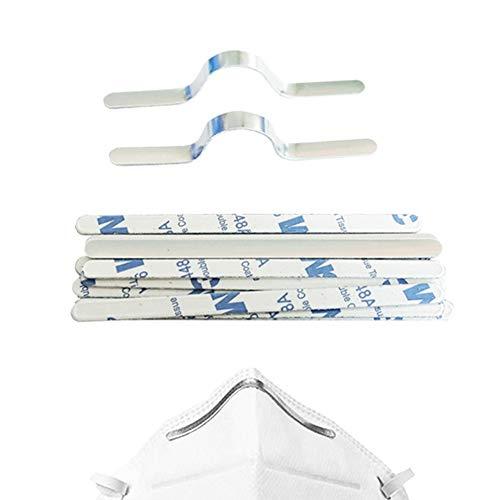 Aluminum Strips Straps Nose Bridge Strip for DIY Handmade Crafting Making Nose Bridge Clip 200 50 pcs//Pack