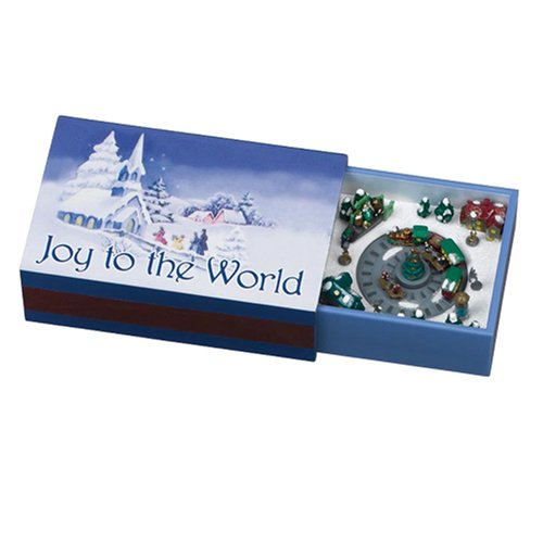Mr. Christmas Gold Label Matchbox Melodies, Joy to The World