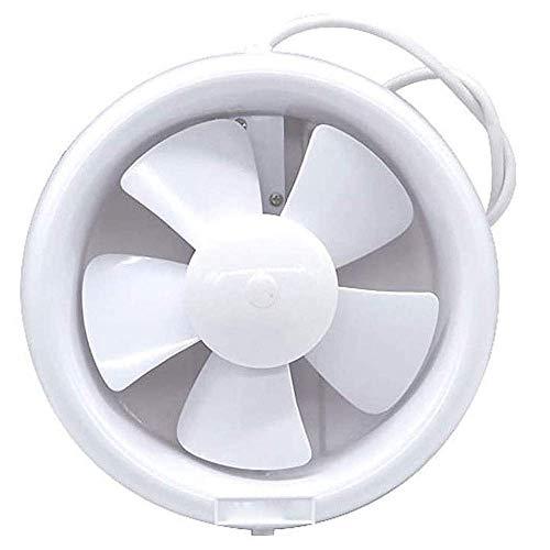 Extractor de batas de baño, ventilador de la cocina Extractor impermeable Mute Baño extracto extracto ventilador ventilador fuerte ventilador para la ventana inodoro ventana ventilación ventiladores v