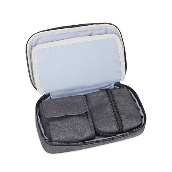 buy  Luxja Diabetic Supplies Travel Case, Storage Bag ... Diabetes Care