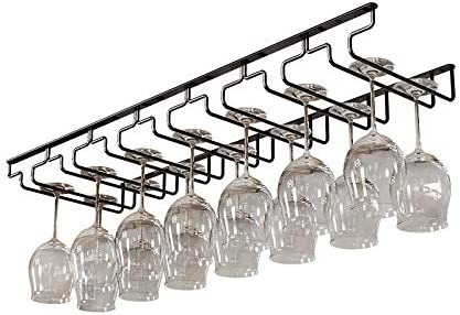 Wine Glass Rack Super popular specialty store Under Cabinet Steel Rare 304 Hanging Stainless