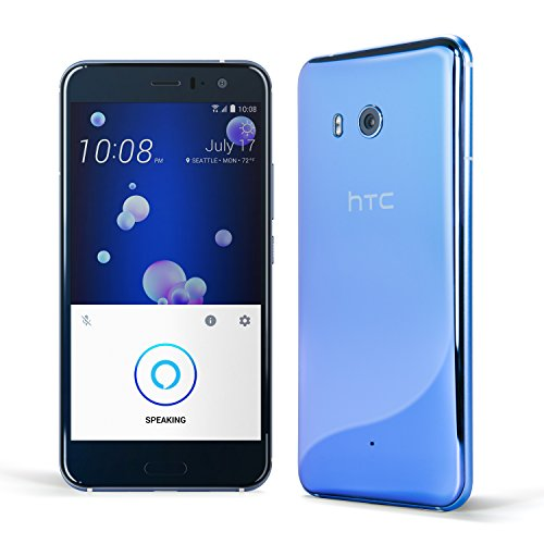 HTC U11 with hands-free Amazon Alexa – Factory Unlocked –Amazing Silver –128GB New York