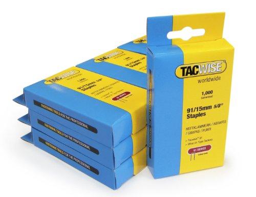 Tacwise - Grapas para pistola grapadora eléctrica (9,1 x 1,5 cm, 10...