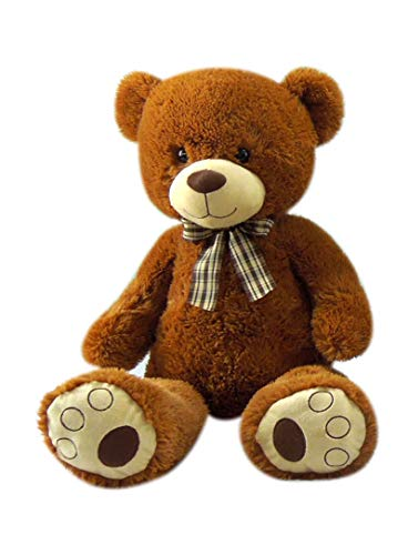 Goffa Jumbo Teddy Bear with Ribbon, 30'