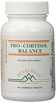 Pro-Cortisol Balance - 60 Chewable Tablets by Nutri West