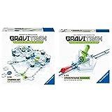 GraviTrax 27597 Starter Kit STEM Activity,White & Erweiterung Hammer - Ideales Zubehör für spektakuläre Kugelbahnen, Konstruktionsspielzeug für Kinder ab 8 Jahren