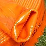 25 mm 1 '52 mm 2' pulgadas Manguera de agua para jard¨ªn Tuber¨ªa de riego Manguera de PVC-Naranja, 20 M, 25 mm