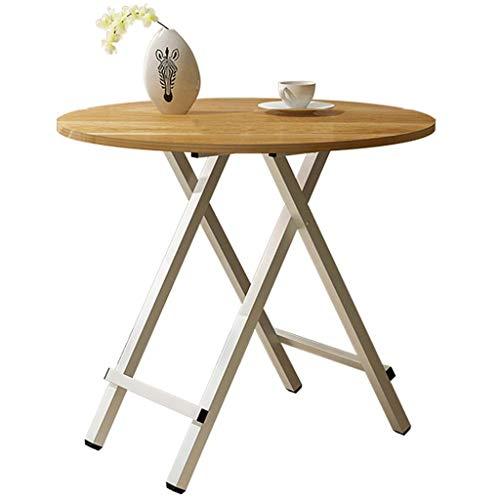 Pliage de Haute qualité Panneau Table Ronde Table carrée Table Basse Mode Maison Salon Chambre Table Basse Durable (Color : A, Taille : 70cm)