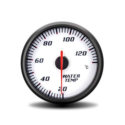 60 mm Racing auto motorfiets motorfiets temperatuur watermeter temperatuurmeter wit blauw achtergrondverlichting digitale multimeter tester