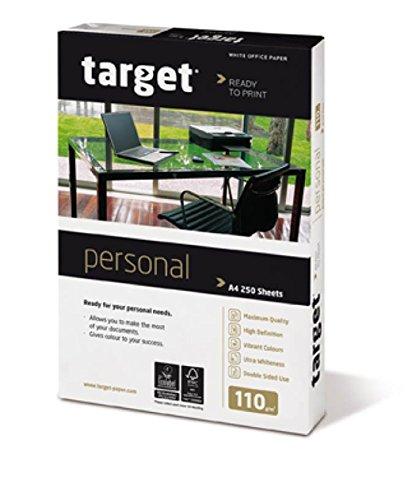 Target Personal Kopierpapier 110g/m² DIN-A4 500 Blatt Druckerpapier weiß