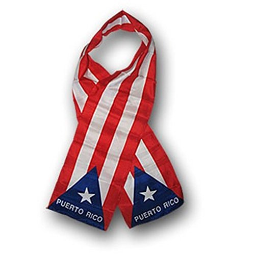Puerto Rico Scarf Flag
