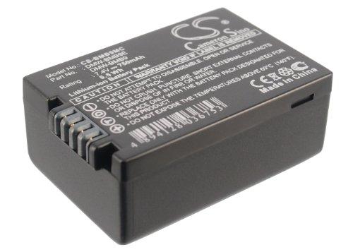 VINTRONS Li-Ion Battery Pack Fits Panasonic Lumix DMC-FZ100, DMW-BMB9PP, DMW-BMB9, Lumix DMC-FZ47, DMW-BMB9E