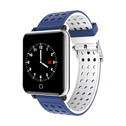 xihongshi Smart-armband met kleurstelling, meteo, stappen, hartslag, bloeddruk, oxigen in de palen, multi-sport, waterdicht IP67, 8 handleiding (mogelijk niet beschikbaar in het Nederlands)