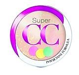 Physicians Formula Super CC Color-Correction + Care CC+ Powder Light/Medium 0.3 Ounce, SPF 30
