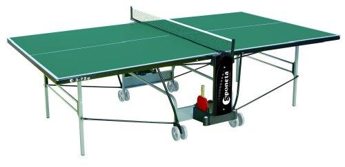 Sponeta S 3-72 e Sportline - Mesa de ping-pong para exteriores - Vert Talla:274 x 152,5 x...