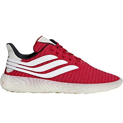 adidas Originals Sobakov - Zapatillas deportivas con cordones para hombre, color rojo, rojo (Rojo), 39.5 EU