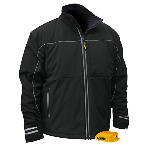 DEWALT - DCHJ072B-L DCHJ072 Heated Lightweight Soft Shell Jacket Black