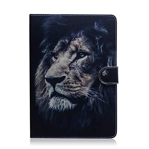 JIan Ying Schutzhülle für Samsung Galaxy Tab A7 10.4 (2020) SM-T500 SM-T505 Slim Leicht Schutzhülle Cover Löwe Leader