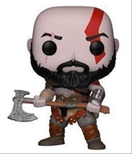 QWYU Gioco God of War Kratos Vinyl Doll Action Figure Collection Model Toys