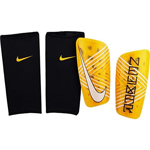 Nike Neymar Mercurial Lite - Parastinchi da Calcio, Unisex, SP2136, Amarillo/Black, L