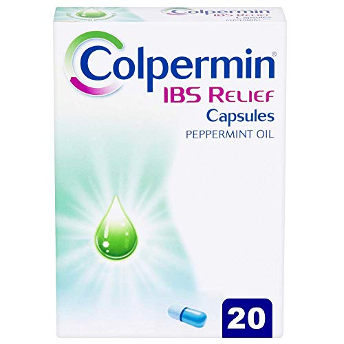 Colpermin IBS Relief - Contains Natural Peppermint Oil That Relieves IBS Symptoms - Peppermint Oil Capsules for IBS Relief - Colpermin Capsules - 20 Pack