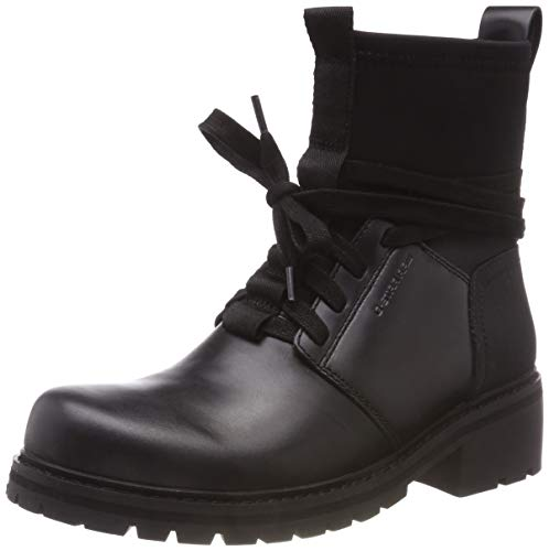 G-STAR RAW Damen Deline Sock Boot Stiefeletten, Schwarz (Black 990), 37 EU