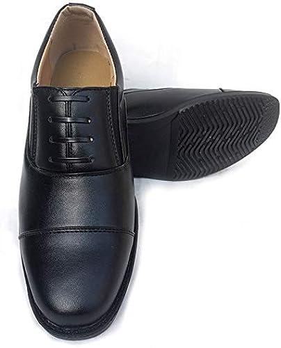 LOVDRAM Chaussures en Cuir pour Hommes Habillent Trois Joints, Chaussures De Pied, Chaussures à Trois Pointes, Homme