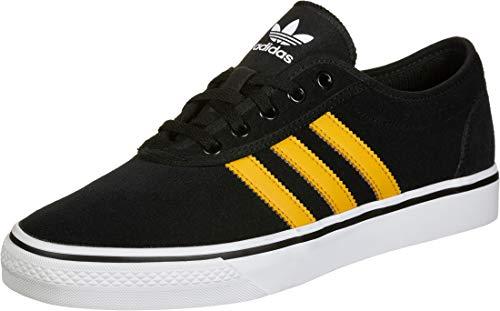 adidas Adi-Ease, Zapatillas para Hombre, Core Black/Tactile Yellow F17/Ftwr White, 38 2/3 EU