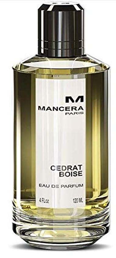 感謝する手数料カウントMancera Cedrat Boise Eau de Parfum 4.0 oz./120 ml New in Box
