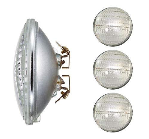 Sterl Lighting – 36 Watt PAR36 Flood Light, Multi-Purpose Screw Terminal 2.75Inch 12V 450Lm, Wide Landscape Lighting Bulbs Halogen 2700K Warm White Clear – 4 Pack