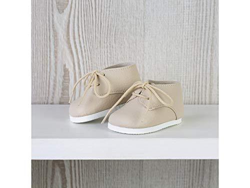 ASIVIL Zapatos Beige con Cordones Muñeca 43-46 cm 5361602