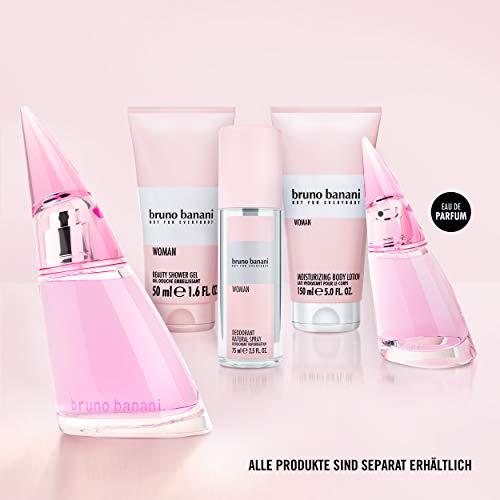 Coty Beauty Germany GmbH, Consumer Bruno banani woman - eau de toilette natural spray - blumig-fruchtiges damen parfüm - 1er pack 1 x 40ml