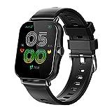 YDK S38 Smart Watch Men's Women's 1.69 Pulgadas Fitness Tracker Pantalla Táctil Completa IP68 Reloj Deportivo Impermeable,B