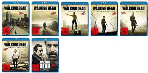 The Walking Dead - Staffel 1-7 [Blu-ray]