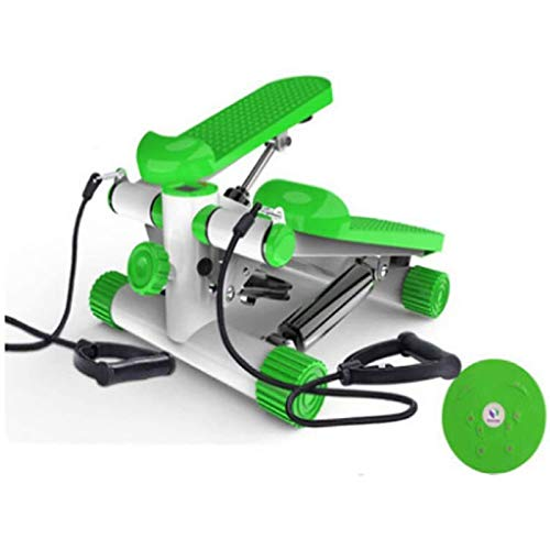 Rindasr Sport-mini-stepper, instelbare hydraulische mute-bergstepper, multifunctionele fitnessapparaten met weerstand, digitale led-display