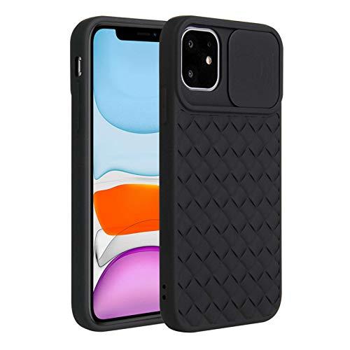 Fadter Carcasa para iPhone 12 con protección de cámara, carcasa de silicona para teléfono móvil, 360 grados, suave, para iPhone 12 (7)