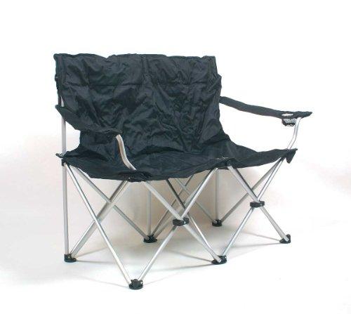 Relags Travelchair \'Love Seat\' Faltsofa Stuhl, Schwarz, One Size