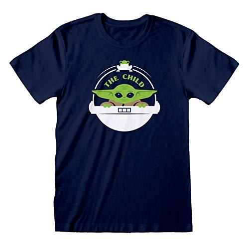 Star Wars: The Mandalorian The Child Floating Pod Camiseta para Hombre| mercancía Oficial