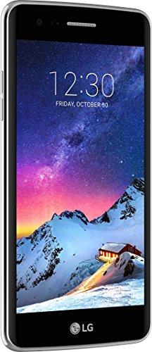 LG Mobile K8 (2017) Smartphone (12,7 cm (5 Zoll) IPS Bildschirm, 16 GB Speicher, Android 7.0) titan