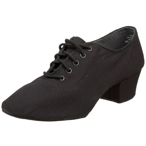 "Capezio Women's Practice 1"" Ballroom Shoe, Black, 9 M US"
