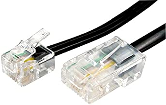Lead RJ45 to RJ11 Black 20M Cable Length - Imperial 65.61ft Cable Length - Metric 20m Connector Type