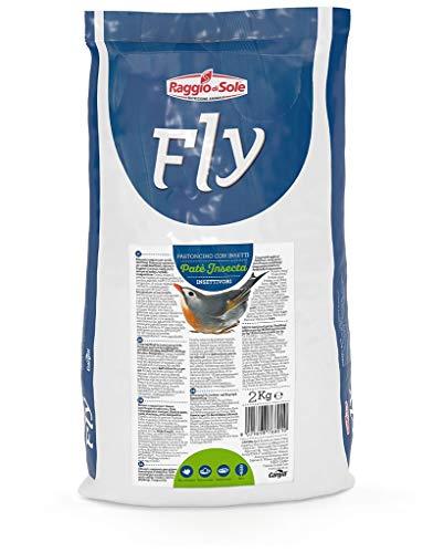 Raggio di Sole Pasta mórbida para pájaros insectivoros Insecta 2 kg.