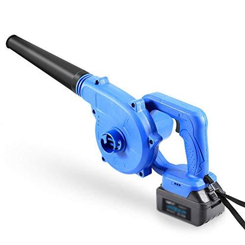 CYY Azul Aspiradora de Jardín con Batería y Cargador,Potente Soplador de Hojas...